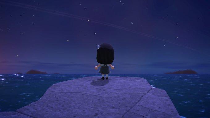 森 あつまれ 音 の どうぶつ 流れ星